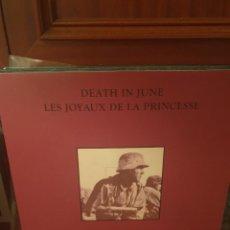 Discos de vinilo: DEATH IN JUNE / LES JOYAUX DE LA PRINCESSE / NOT ON LABEL. Lote 263258305