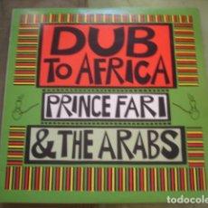 Discos de vinilo: PRINCE FAR I & THE ARABS DUB TO AFRICA. Lote 263259350