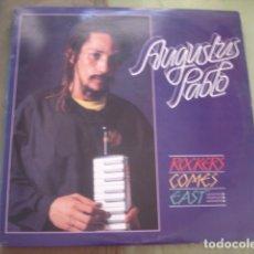 Discos de vinilo: AUGUSTUS PABLO ROCKERS COME EAST. Lote 263262340