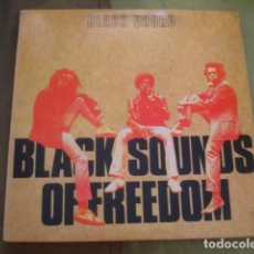 Discos de vinilo: BLACK UHURU BLACK SOUNDS OF FREEDOM. Lote 263262600