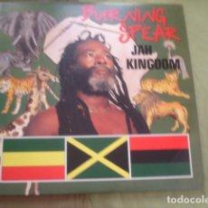 Discos de vinilo: BURNING SPEAR  JAH KINGDOM. Lote 263263160