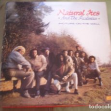Discos de vinilo: NATURAL ITES & THE REALISTICS PICTURE ON THE WALL. Lote 263266500