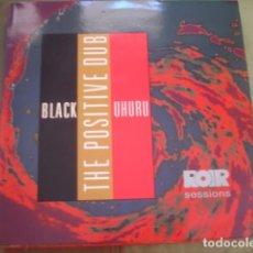 Discos de vinilo: BLACK UHURU THE POSITIVE DUB. Lote 263267355
