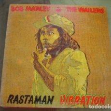 Discos de vinilo: BOB MARLEY & THE WAILERS RASTAMAN VIBRATION. Lote 263268050