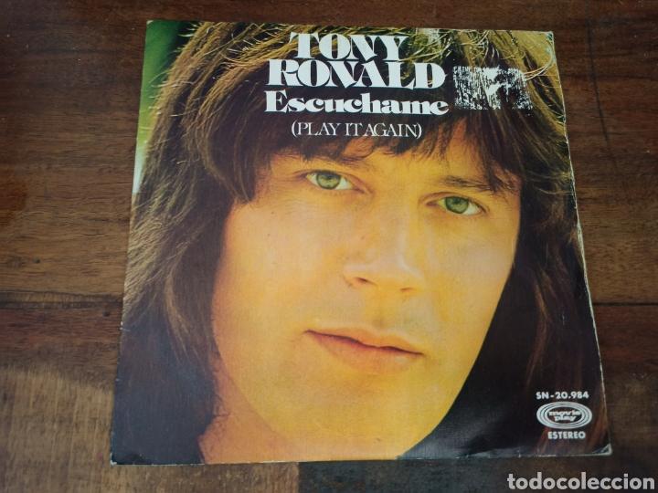 ESCUCHAME (PLAY IT AGAIN). TONY RONALD. MOVIE PLAY. MADRID, 1975. SN-20984 (Música - Discos - Singles Vinilo - Solistas Españoles de los 70 a la actualidad)