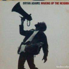 Discos de vinilo: BRYAN ADAMS * 2LP VINILO * WAKING UP THE NEIGHBOURS * SPAIN 1991 * INSERT LETRAS POSTER. Lote 263277310