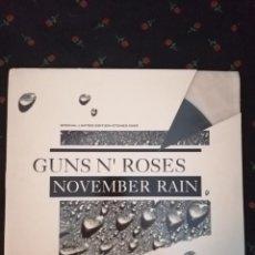 """Discos de vinilo: GUNS N' ROSES - NOVEMBER RAIN - MAXI 12"""" EDICION LIMITADA ETCHED. Lote 263296395"""