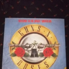 "Discos de vinilo: GUNS N' ROSES - WELCOME TO THE JUNGLE -12"" MAXI LIMITED EDITION POSTER BAG. Lote 263299715"