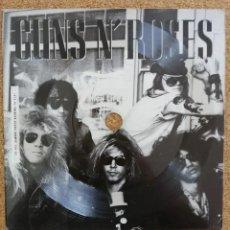 """Discos de vinilo: GUNS N' ROSES - APPETITE FOR DESTRUCTION - 7"""" PROMO FLEXI DISC.. Lote 263302270"""