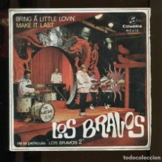 Discos de vinilo: LOS BRAVOS. BRING A LITTLE LOVIN. MAKE IN LAST. COLUMBIA 1967 SP. Lote 263304015