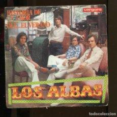 Discos de vinilo: LOS ALBAS. HISTORIA DE UN AMOR. VERGARA 1970. SP. Lote 263304140