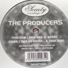"""Discos de vinilo: THE PRODUCERS - UNTITLED (12"""") SELLO:SOCIETY RECORDINGS SOCIETY001.VINILO MUY BUENO.MINT/GENERICA. Lote 263304260"""