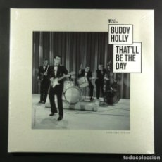 Discos de vinilo: BUDDY HOLLY - THAT'LL BE THE DAY - LP FRANCES 2018 - WAGRAM (GATEFOLD) NUEVO / PRECINTADO. Lote 263304485