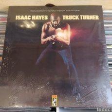 Discos de vinilo: ISAAC HAYES–TRUCK TURNER (ORIGINAL SOUNDTRACK) . DOBLE LP VINILO PRECINTADO. OFICIAL STAX.. Lote 263383475