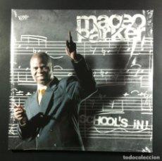 Discos de vinilo: MACEO PARKER - SCHOOL'S IN! - DOBLE LP 2XLP ALEMAN 2005 - BHM (NUEVO / PRECINTADO). Lote 263533750