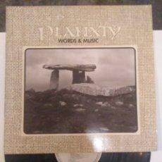 Discos de vinilo: PLANXTY WORLDS & MUSIC. Lote 263548570