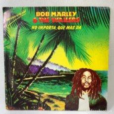 Dischi in vinile: SINGLE BOB MARLEY & THE WAILERS - NO IMPORTA, QUE MAS DA - ESPAÑA - AÑO 1980. Lote 263549240