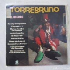 Discos de vinilo: TORREBRUNO - EL RECREO - LP 1977. Lote 263562230