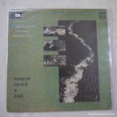 Discos de vinilo: JOHN MCLAUGHLIN, AL DI MEOLA, PACO DE LUCÍA - PASSION, GRACE & FIRE - LP 1983. Lote 263562865