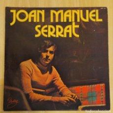Discos de vinilo: JOAN MANUEL SERRAT (LA PALOMA) LP MUSTANG 1977 FRANCIA. Lote 263564395
