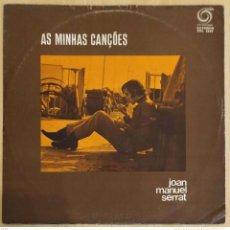 Discos de vinilo: JOAN MANUEL SERRAT (AS MINHAS CANÇOES) LP PORTUGAL SRL 5507 RODA. Lote 263565235