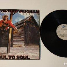 Discos de vinilo: 0521- STEVIE RAY VAUGHAN & DOUBLE TROUBLE SOUL TO SOUL POR VG DIS VG UK 1985. Lote 263569875