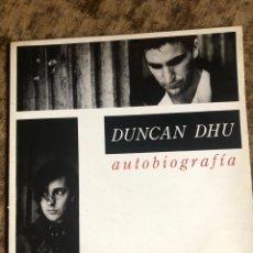 Discos de vinilo: DISCO DOBLE LP DUNCAN DHU ( AUTOBIOGRAFÍA). Lote 263569960