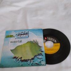 Discos de vinilo: J.M.BLY & GREEN WAVES, WATERFALL SINGLE,1978. Lote 263570405