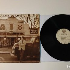 Discos de vinilo: 0521- RANDY TRAVIS STORMS OF LIFE VIN LP POR G+ DIS VG US 1985. Lote 263573145