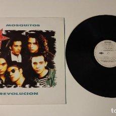 Discos de vinilo: 0521- MOSQUITOS REVOLUCION VINILO LP POR VG+ DIS VG+ SPAIN 1990. Lote 263573675