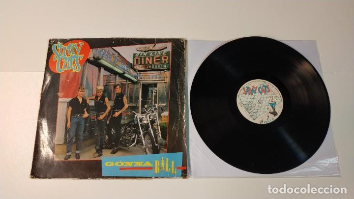 0521- STRAY CATS GONNA BALL VINILO LP POR F DIS G GERMANY (Música - Discos - LP Vinilo - Rock & Roll)