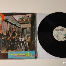 Discos de vinilo: 0521- STRAY CATS GONNA BALL VINILO LP POR F DIS G GERMANY. Lote 263574490