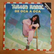 """Discos de vinilo: LP VINILO. TERESA RABAL. """"DE OCA A OCA"""" (BY MOVIEPLAY 1981). Lote 263576770"""