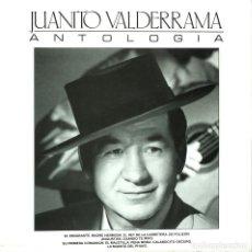 Discos de vinilo: LP DE JUANITO VALDERRAMA: ANTOLOGÍA. COLUMBIA, 1986. MUY BUEN ESTADO.. Lote 263580245