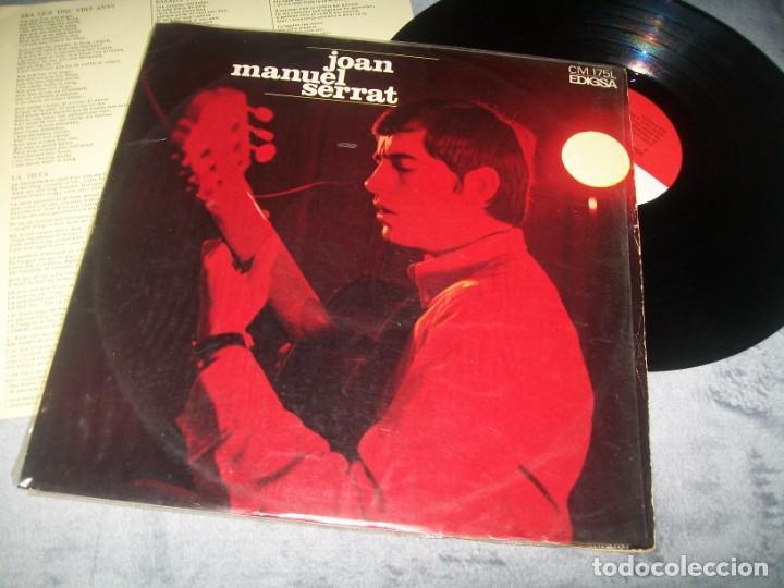 JOAN MANUEL SERRAT - ELS SETZE JUTGES ..LP DE EDIGSA ..ORIGINAL DE 1967 (Música - Discos - LP Vinilo - Cantautores Españoles)