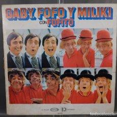 Discos de vinilo: DISCO DE VINILO LP GABY DOFO Y MILIKI CON FOFITO - MOVLE PLAY 54569. Lote 263583340