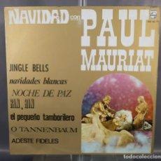 Discos de vinilo: DISCO DE VINILO LP NAVIDAD CON PAUL MAURIAT - PHILIPS 842162PY. Lote 263585045