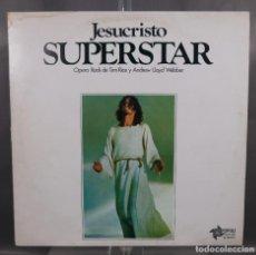 Discos de vinilo: DISCO DE VINILO LP JESUCRISTO SUPERTAR - OPERA ROCK DE TIM RICE Y ANDREW LLOYD WEBBER 1975. Lote 263585325