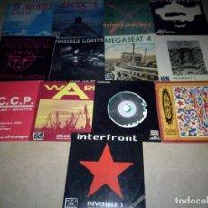 Discos de vinilo: LOTE DE 13 DISCOS DE ELECTRONICA. Lote 263585890