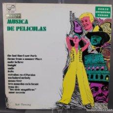 Discos de vinilo: DISCO DE VINILO LP MUSICA DE PELÍCULAS - ZAFIRO 1969. Lote 263587580