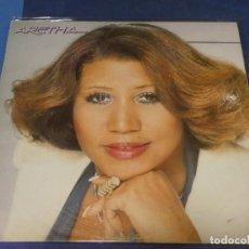 Disques de vinyle: LP DAMA DEL SOUL ARETHA FRANKLIN HOMONIMO ESPAÑA 1980 SEÑALES MUY MENORES USO. Lote 263588710