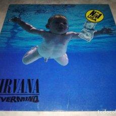 Discos de vinilo: NIRVANA-NEVERMIND-ORIGINAL ESPAÑOL 1991-CONTIENE ENCARTES. Lote 263590435