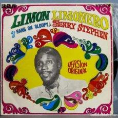 Discos de vinilo: SINGLE. HENRY STEPHEN. LIMON LIMONERO. Lote 263591445