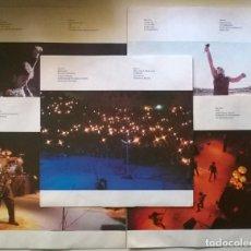 Discos de vinilo: BRUCE SPRINGSTEEN & THE E STREET BAND. LIVE 1975-85. CBS, UK 1986 (5 LP'S + 5 ENCARTES) 450227 1. Lote 263596370