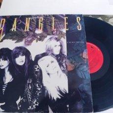Discos de vinilo: BANGLES-LP EVERYTHING-ENCARTE LETRAS. Lote 263608480
