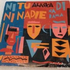 Discos de vinilo: SINGLE ALASKA Y DINARAMA - NI TU NI NADIE - JAIME Y LAURA - HISPAVOX 45.445215 - PEDIDO MINIMO 7€. Lote 263609195