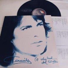 Discos de vinilo: CAMILO SESTO-LP A VOLUNTAD DEL CIELO-LETRAS POSTER. Lote 263609885