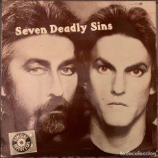 Discos de vinilo: RINDER & LEWIS SEVEN DEADLY SINS. Lote 263612175