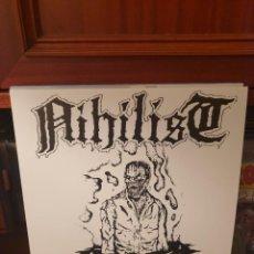 Discos de vinilo: NIHILIST / DROWNED .. / NOT ON LABEL. Lote 263612245