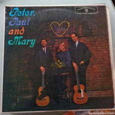 Discos de vinilo: PETER, PAUL AND MARY - PETER, PAUL AND MARY (WARNER BROS. RECORDS , US, 1962). Lote 263614105